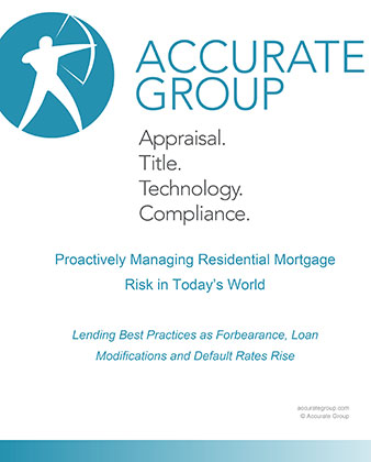 Proactively Managing Residential Mortgage Risk in Today's World whitepaper
